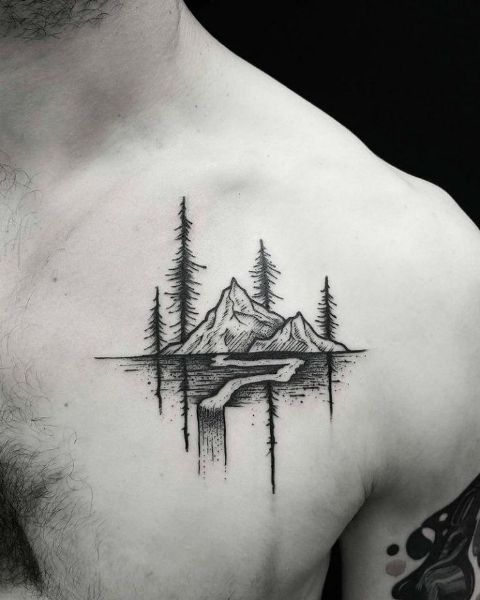 men mountain tattoo 5