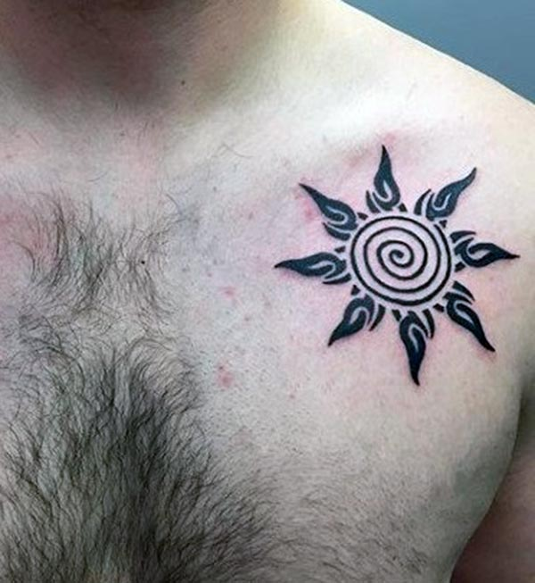 men sun tattoo 2