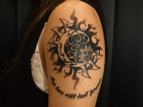 men sun tattoo 8