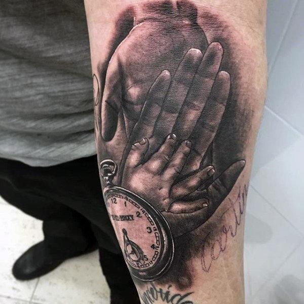 men's family tattoo 1