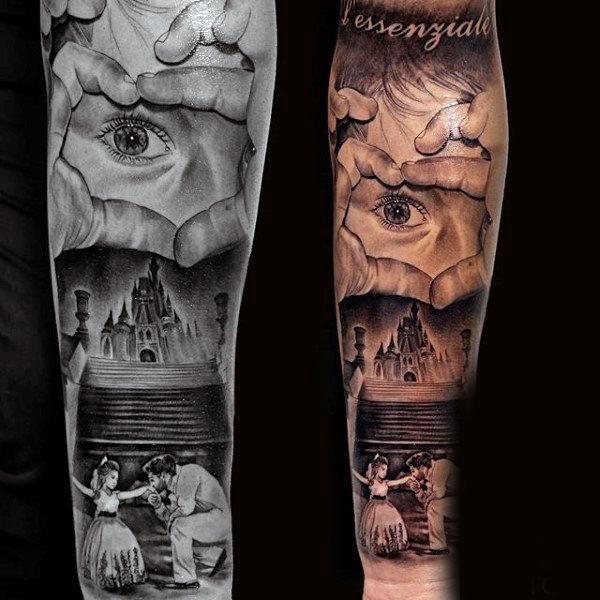 men's family tattoo 2