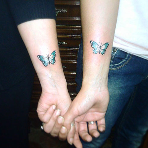 Sisters-Butterfly-Tattoos