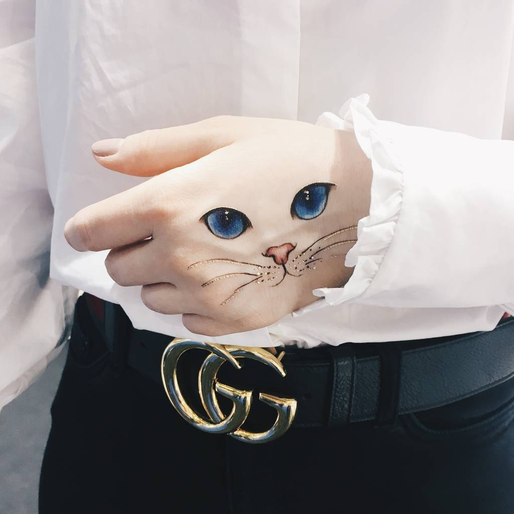 cat eye tattoo 4