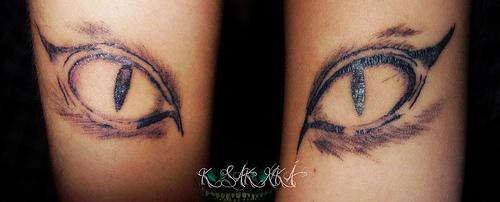 cat eye tattoo 6
