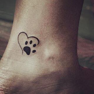 cat paw tattoo 4