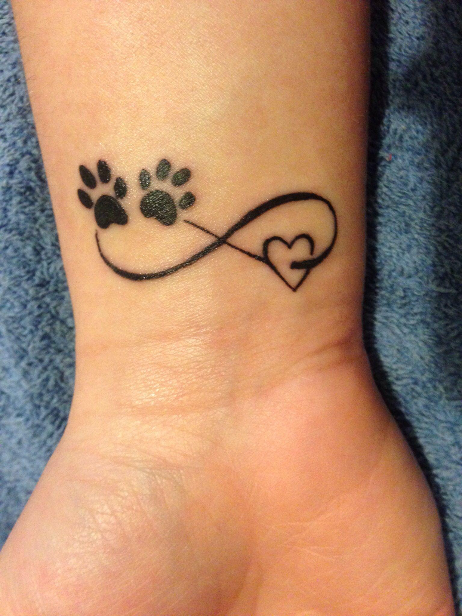 cat paw tattoo 6