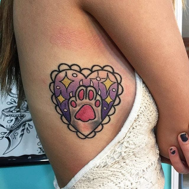 50+ Adorable Cat Tattoo Designs To Live For! - Tats \'n\' Rings