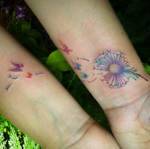 dandelion-wrist-tattoo