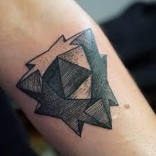 geometric star tattoo 5
