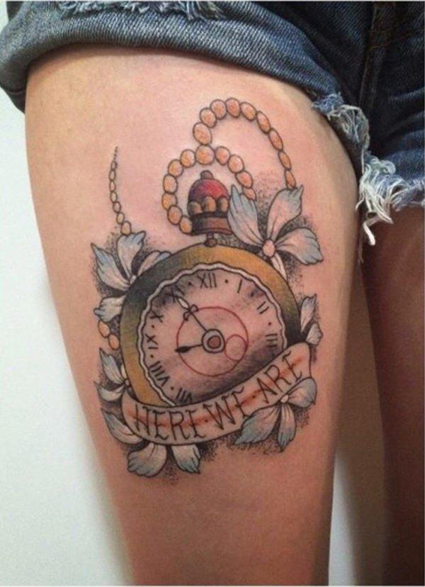 37-clock-tattoo-on-leg.jpg