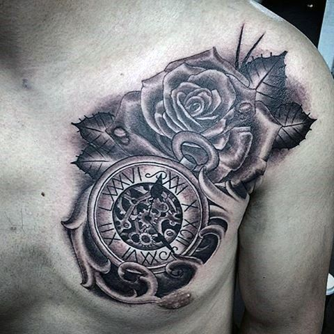 clock tattoo 1