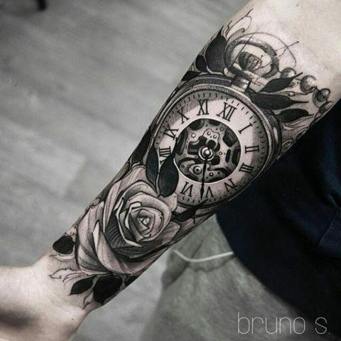 clock tattoo 2