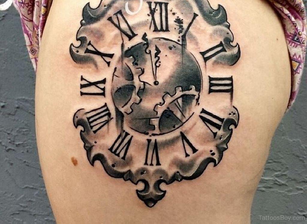 clock tattoo 3