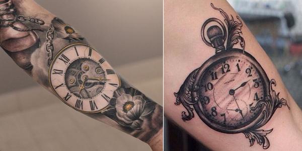 clock tattoo 4