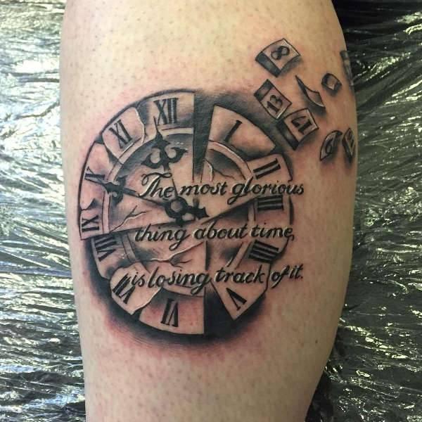 clock tattoo 5
