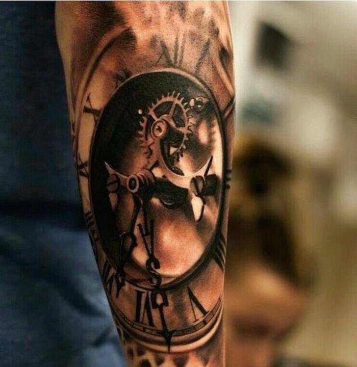 clock tattoo 6