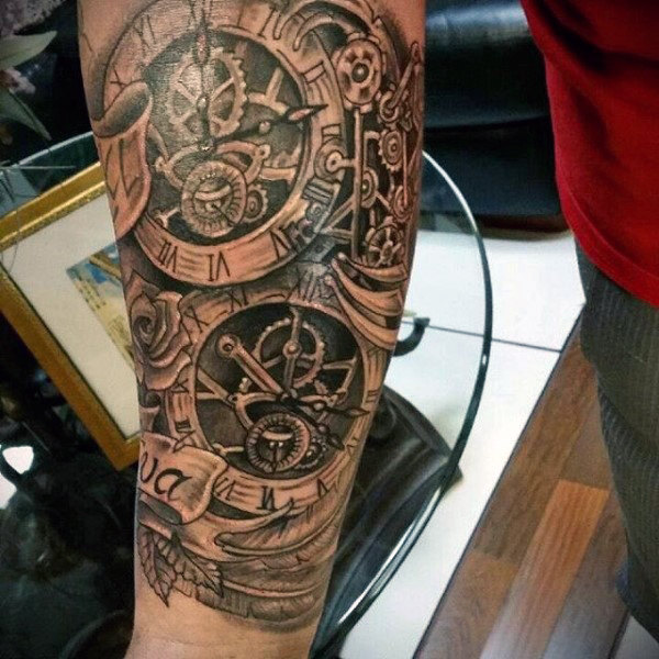 guys-forearms-steampunk-tattoo-with-clock.jpg