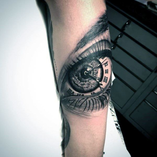tattoo-trends-mens-forearm-eye-roman-numeral-clock-tattoo-design-ideas.jpg