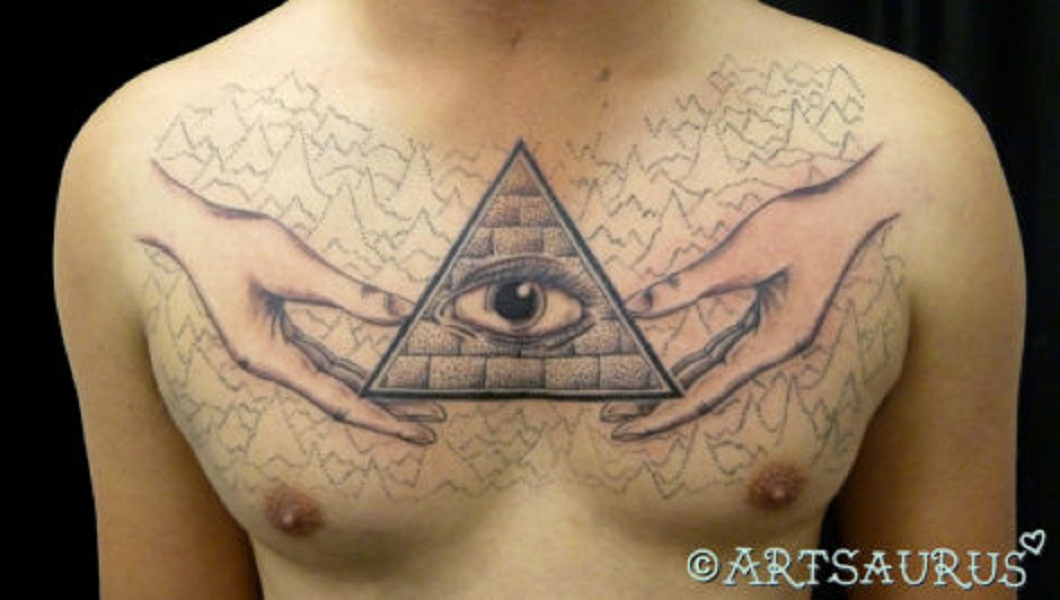 all seeing eye chest